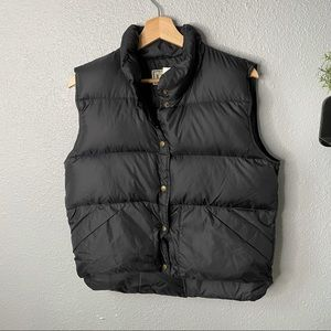 LL Bean Goose Down Puffer Vest size small